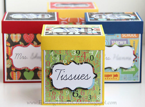 Tissue Boxes for Teachers