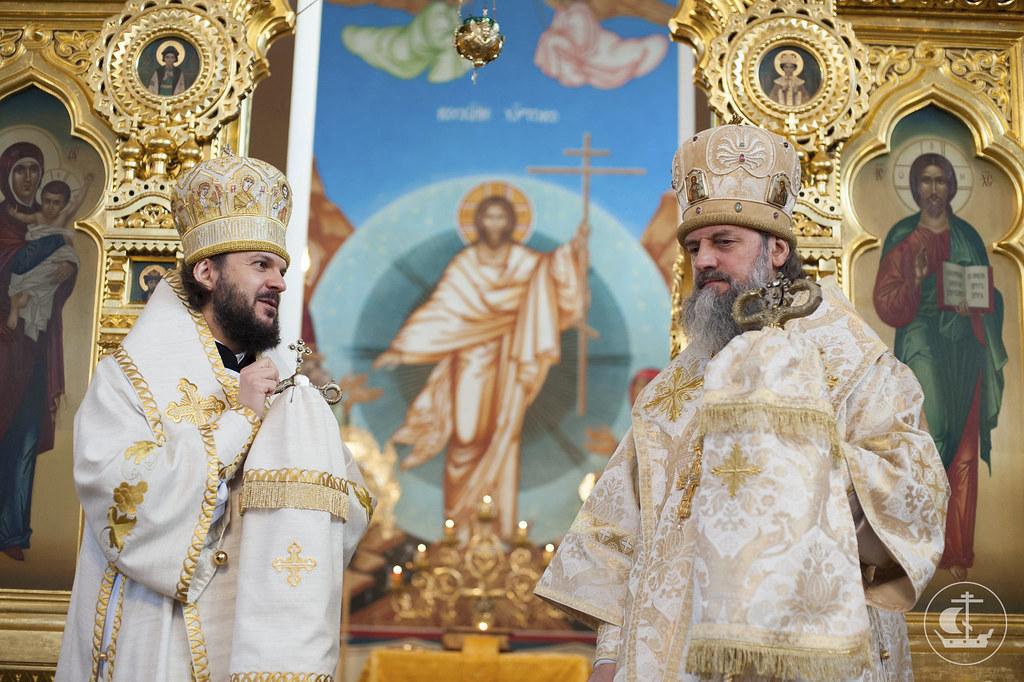 28 декабря 2012, Литургия в Клайпедском храме Всех Святых, в земле Российской просиявши