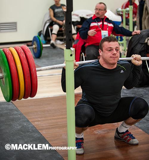 Zielinski POL 85kg weightlifter