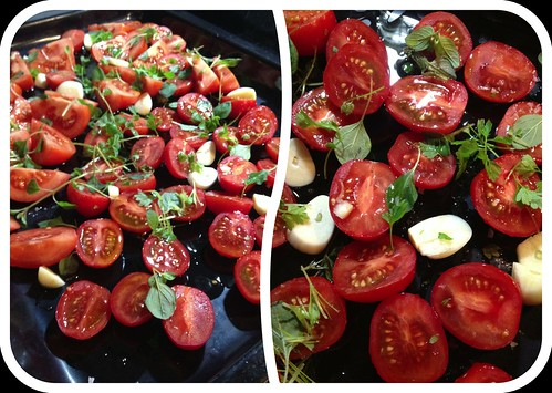 Långrostade tomater