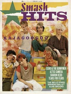 Smash Hits, February 3, 1983