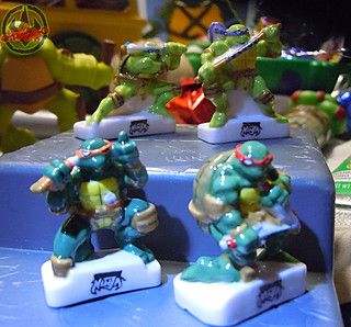 PRIME :: TORTUES NINJA  porcelain miniature prototypes iv (( 2009 ))