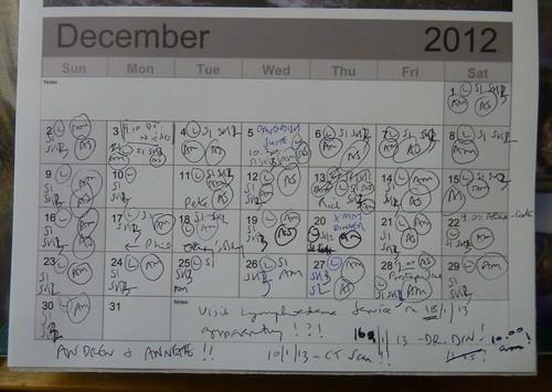 December 2012 on my calendar ...