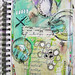 PERSNICKETY art journal page