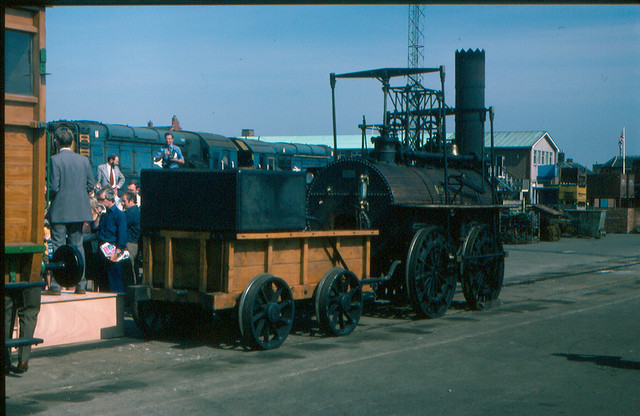 Replica Locomotion No 1, Shildon Works 1976