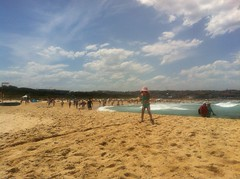 Recovery. Maroubra beach. Slow progress