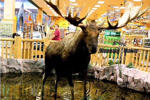 Animatronic Megaloceros Animal for sale
