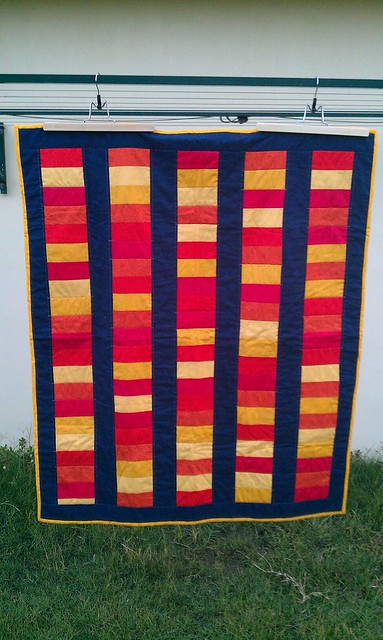'Treasure' Quilt - Front