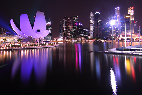 reflection skyline night canon bay singapore skyscrapers marinabay canoneos50d canon50d tokina1116mmf28atxdx mygearandme mygearandmepremium mygearandmebronze mygearandmesilver mygearandmegold mygearandmeplatinum mygearandmediamond