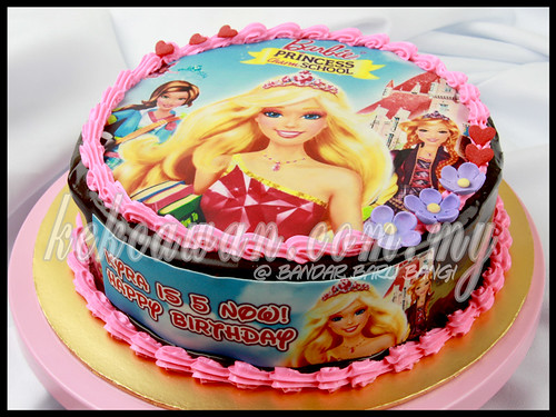 Barbie Princess Cake!