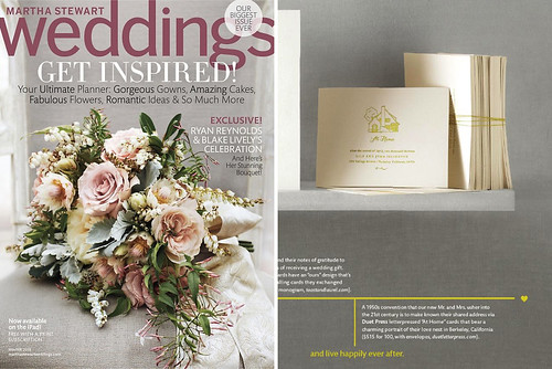 feature in martha stewart weddings
