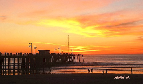 ocean sunset colors pier pacific medhathi mygearandme mygearandmepremium mygearandmebronze mygearandmesilver mygearandmegold mygearandmeplatinum mygearandmediamond coastalandwaterviewsbymi