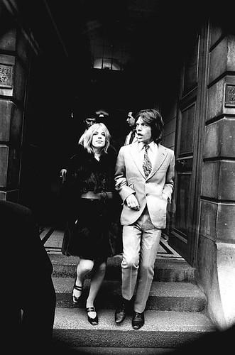 Marianne Faithfull & Mick Jagger, 1969