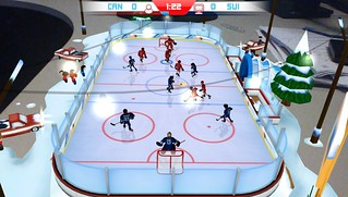 Table Ice Hockey on PS Vita