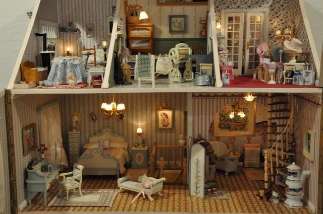 Mesa n 3 de la exposici n de casas de mu ecas autora for La casa de las munecas madrid