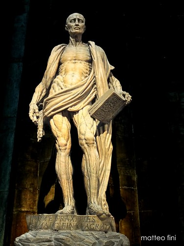 St Bartholomew by Marco d'Agrate  (1562) by Matteo Fini