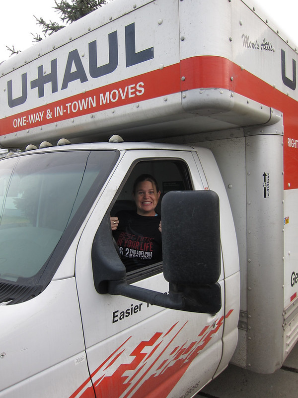 Uhaul Moving Truck