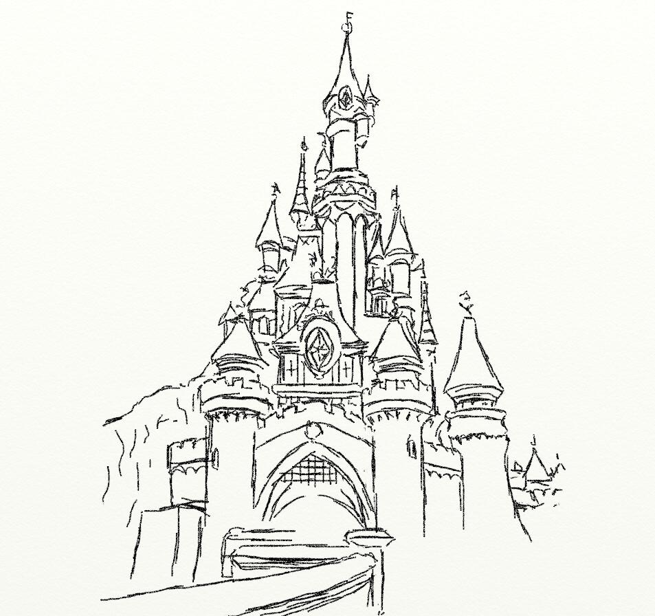Frozen Coloring Pages Elsa Ice Castle : Disney frozen castle coloring pages
