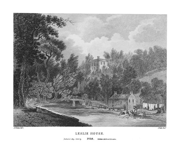 etching: Leslie House