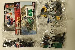 LEGO Marvel Super Heroes Spiderman: Spider-Cycle Chase (76004)