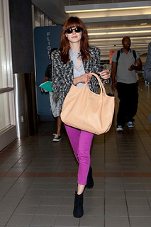 Michelle Monaghan Ankle Boots Celebrity Style Women's Fashion