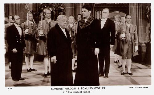 Edmund Purdom, Edmund Gwenn, The Student Prince