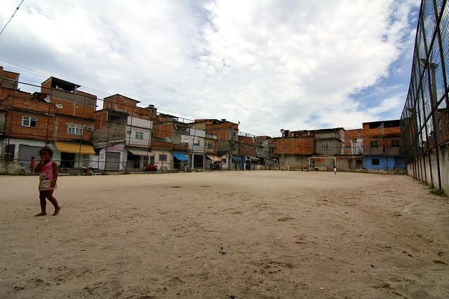 Campo de futebol da Favela Mandela