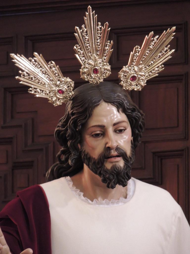 Jesús en su Entrada Triunfal en Jerusalen. Pozoblanco.