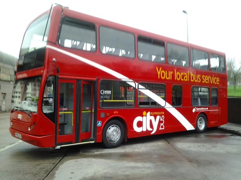 Plymouth Citybus 404