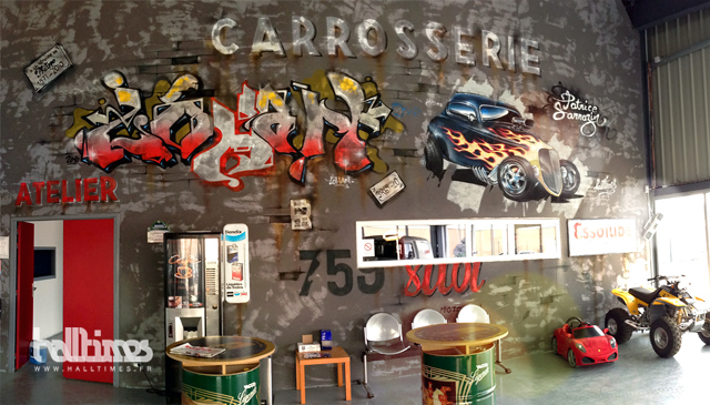 Decoration murale Carrosserie Vintage  Flickr - Photo Sharing!