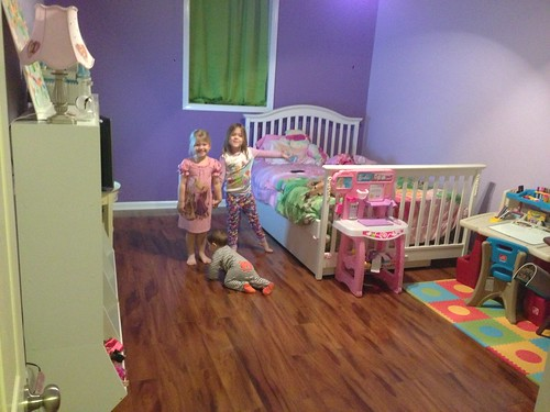 The girls new room