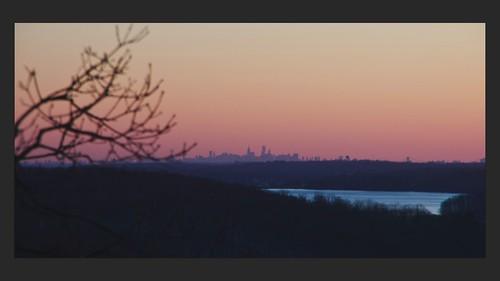 nyc newyorkcity winter sunset newyork night lights timelapse pentax dusk manhattan reservoir empirestatebuilding chryslerbuilding lightroom libertytower kensico fordhamuniversity caldercenter calderhall k5ii