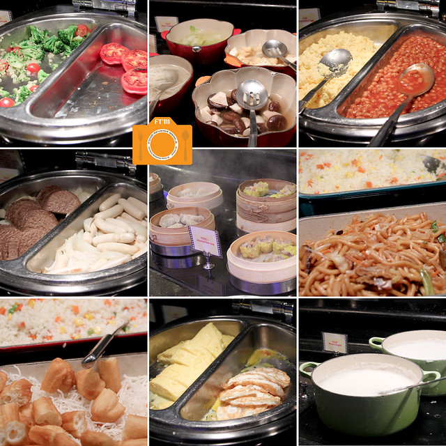 Chef Mickey buffet collage 3