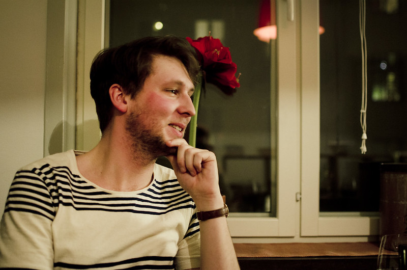 Middag hos Anders.