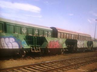 El tren desde el tren