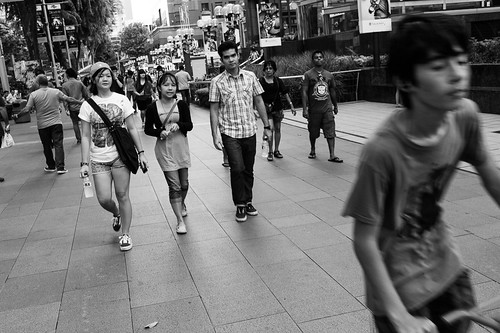 A stroll down Orchard Road.