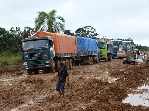 Foto de la carretera de Rurrenabaque a Santa Rosa (Bolivia)