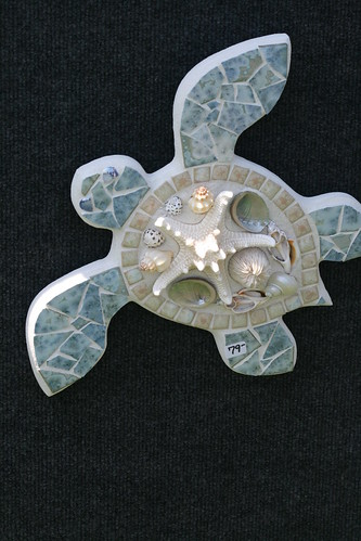 Turtle Decor of Shells