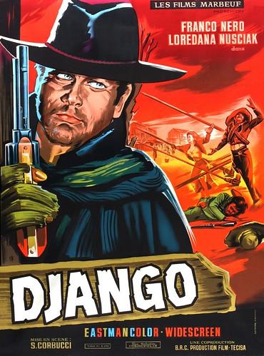 Cartel de Django de 1966