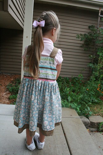 Back to school dress - back