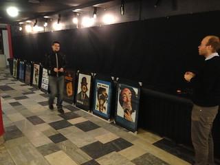 Výstava fimových plakátů Karla Vaci - únor 2013