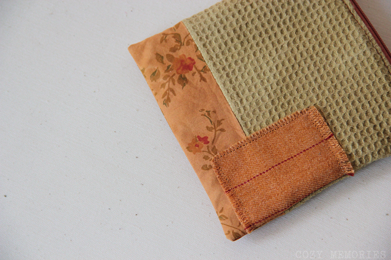 onion and ivy zipped pouch