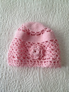 Baby Crocheted Cloche