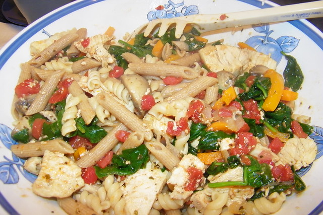 Winter Chicken Pasta