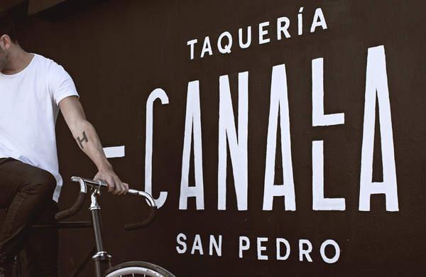 Identidad corporativa de una taquería en la Ciudad de México