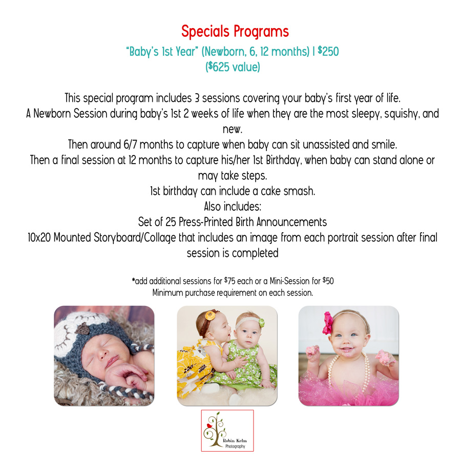 4 Special Programs Baby's 1st Year web large