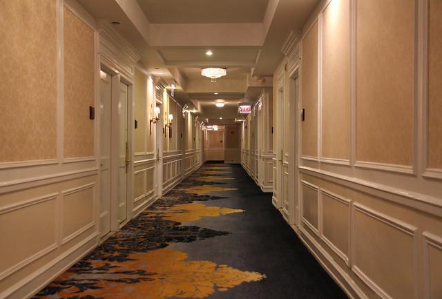 Hallway, Drake Hotel — Chicago, Illinois
