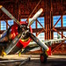 Meanwhile, Out In The Hangar by gr8fulted54