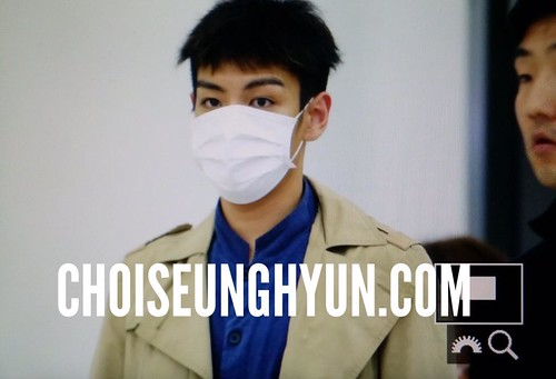 Big Bang - Gimpo Airport - 07jun2015 - TOP - Choidot - 01