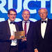 Master Builder of the Year - Tony Isaacson, Managing Director, Kane Constructions, with the hon. David Davis MP, Shadow M